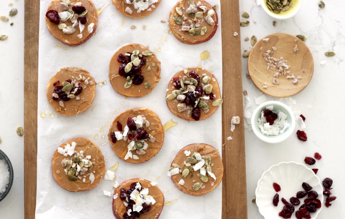 Recipe for DIY Peanut Butter Apple Cookies