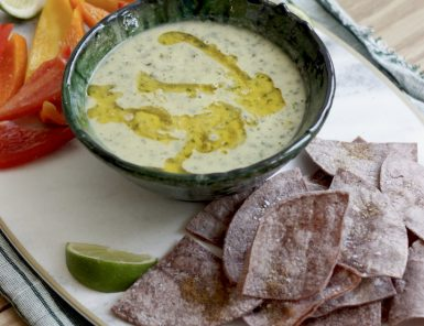 Recipe for Lentil Puree with Cumin Cilantro and Lime