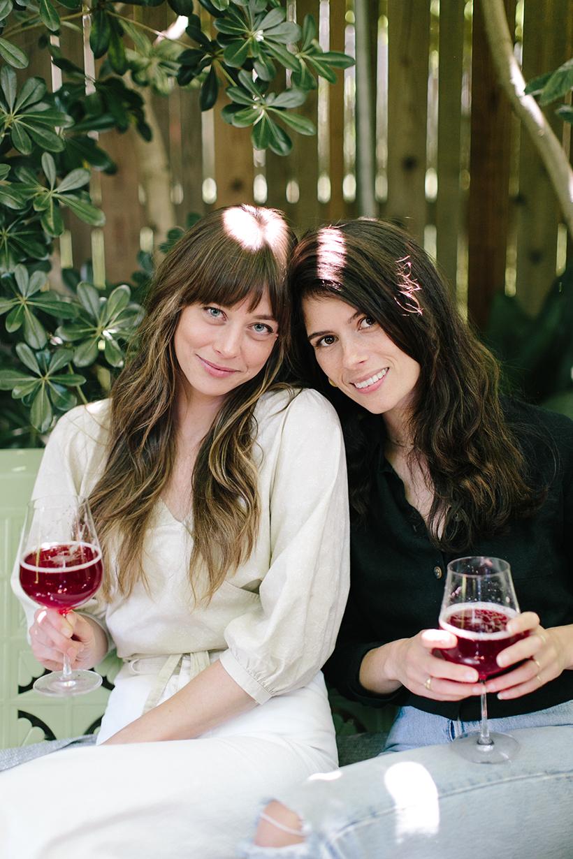 Alexia Brown and Erin Corrigan in Austin, Texas.