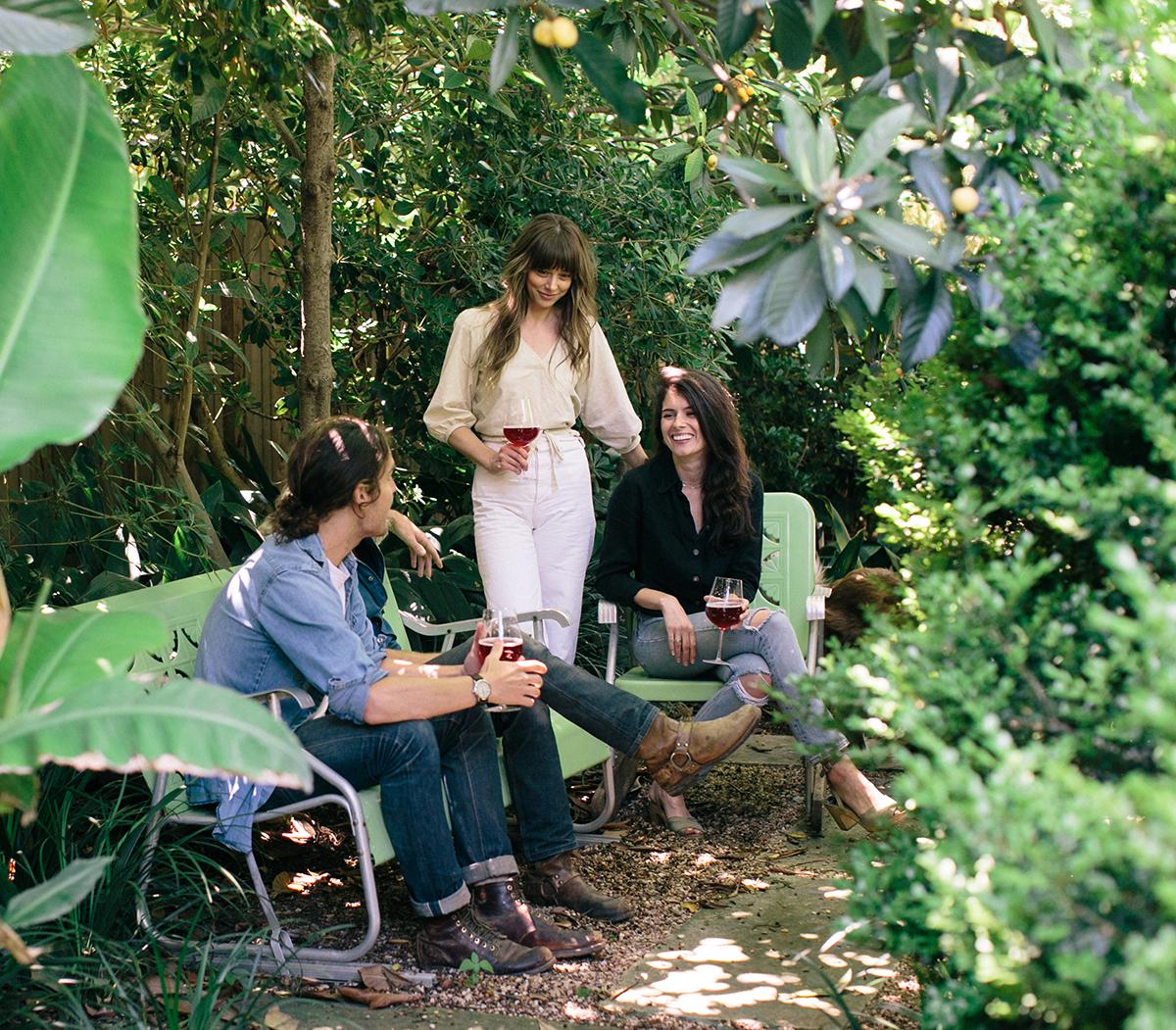 Alexia Brown at home in Austin, Texas.