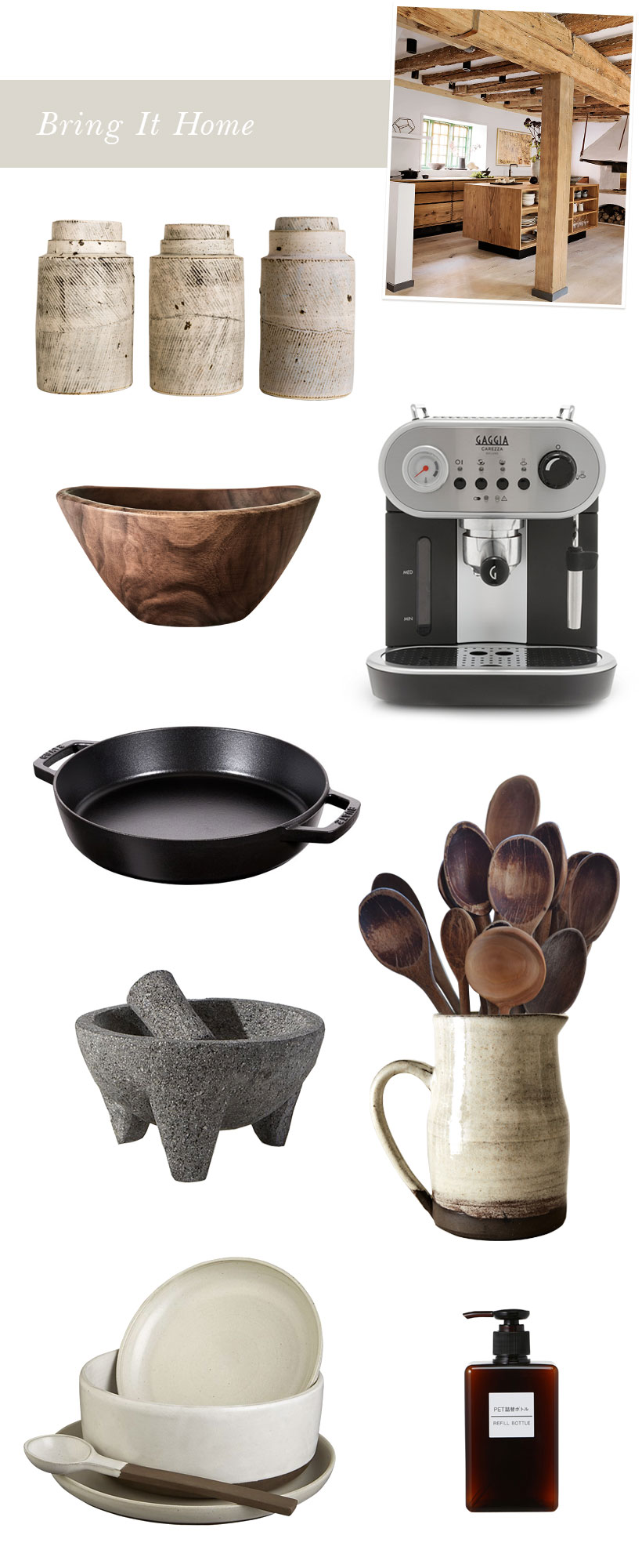 stylish kitchen must haves