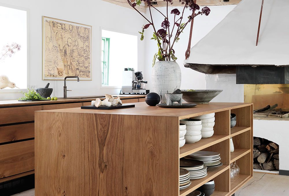 gorgeous modern rustic kitchen