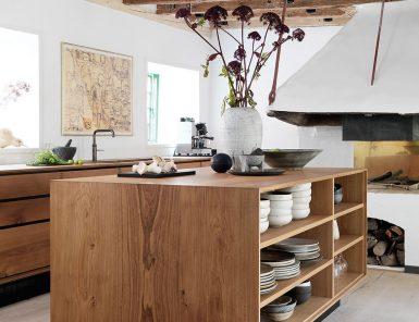gorgeous modern rustic kitchen