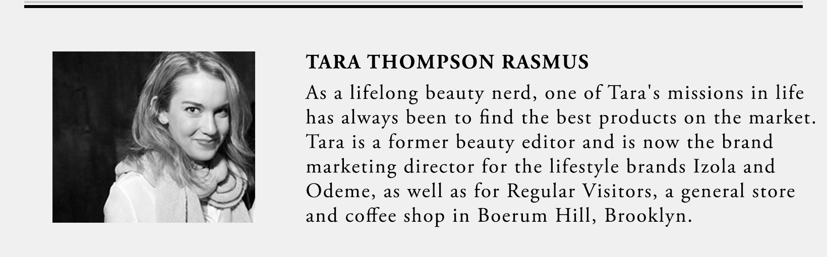 Tara Thompson Rasmus