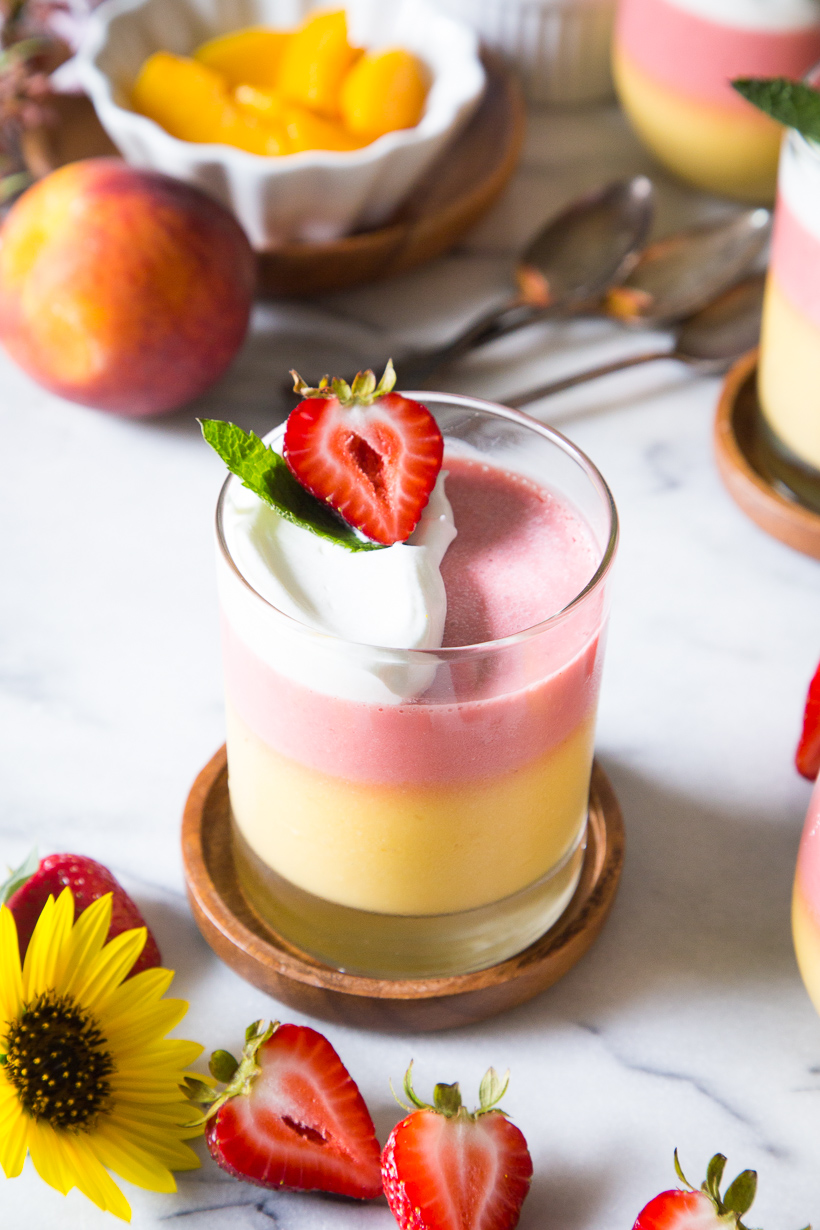Camille Styles Sweeter Side: No-Bake Dessert Summer Fruit Mousse