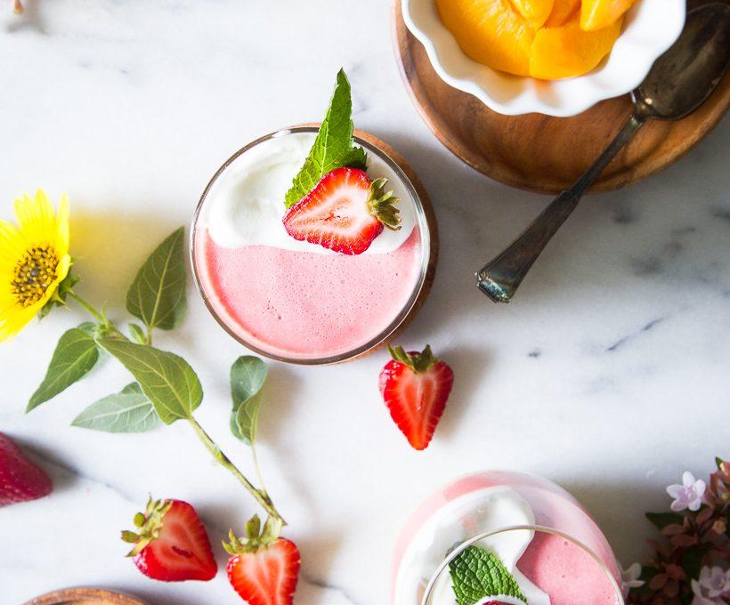 Camille Styles Sweeter Side: No-Bake Dessert Summer Fruit Mousse