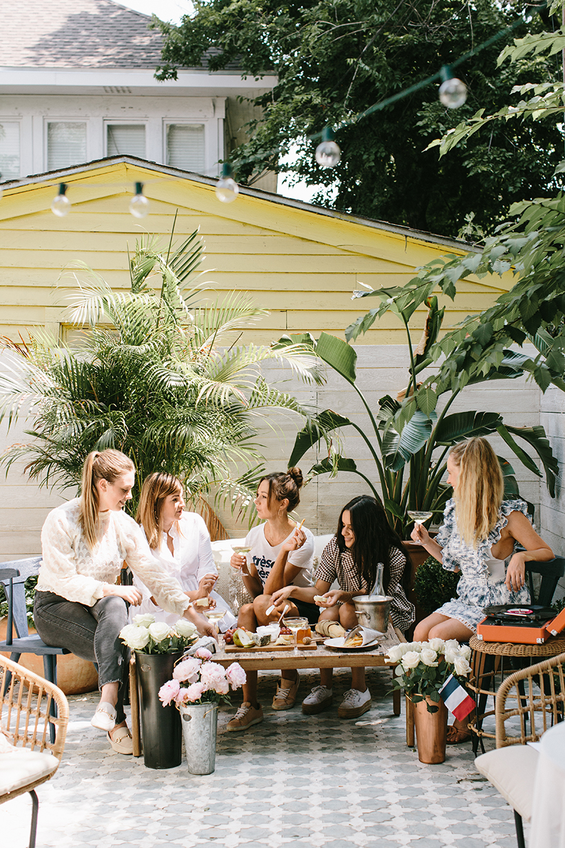 The cutest Bastille Day party!
