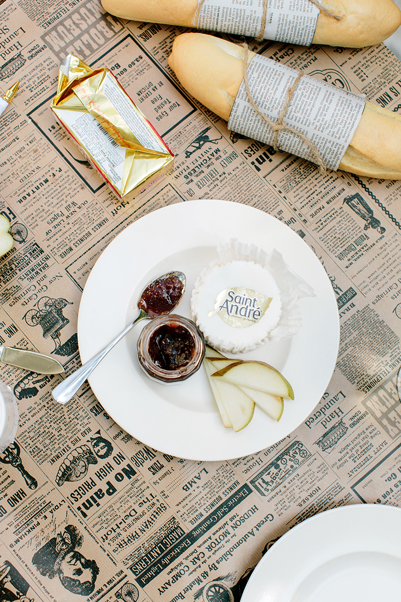 Saint André Cheese from the Normandy region of France