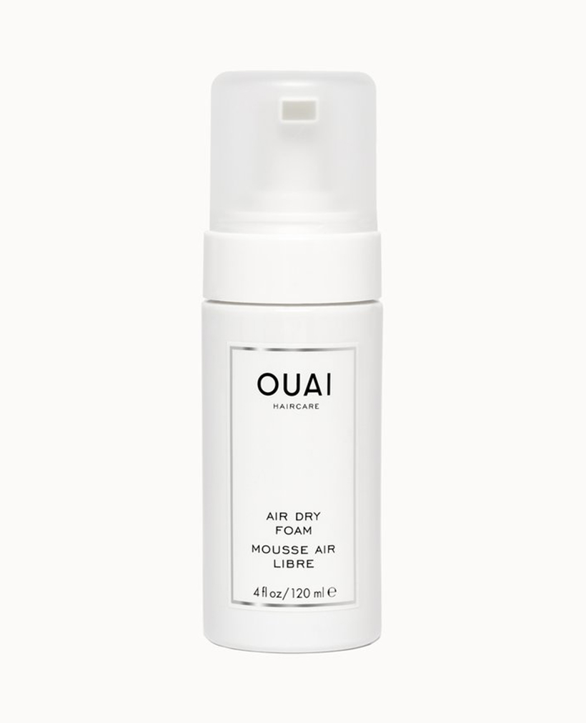 Ouai Air Dry Foam Forget what you thought you knew about mousse—this cult-favorite lightweight foam adds definition and hold to waves with zero crunch or stickiness.