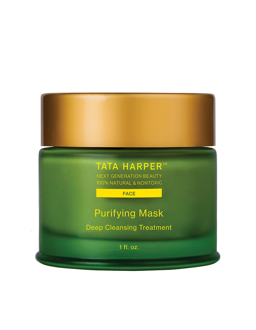Tata Harper Purifying Mask Packing a powerful punch of probiotics as well as skin-nourishing nutrients and humectants, this mask is a serious (but gentle) treatment for acne.