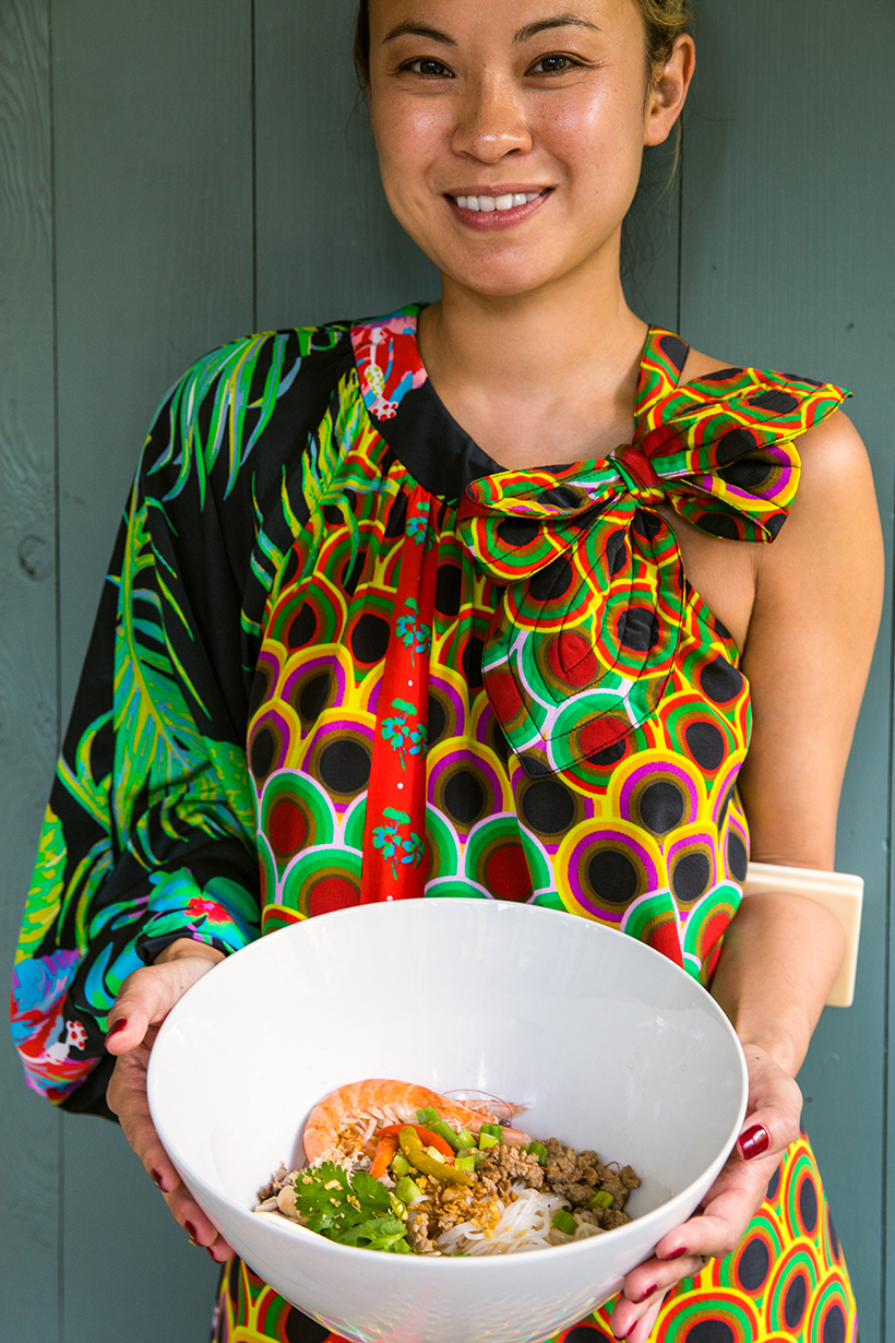 Food and travel writer Deana Saukam
