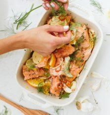 Easy citrus salmon recipe