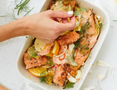 Easy citrus salmon recipe