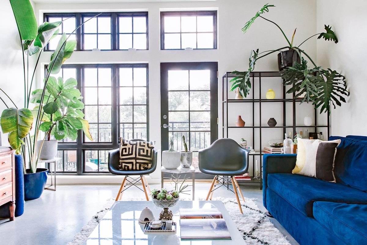 eclectic open loft space in austin