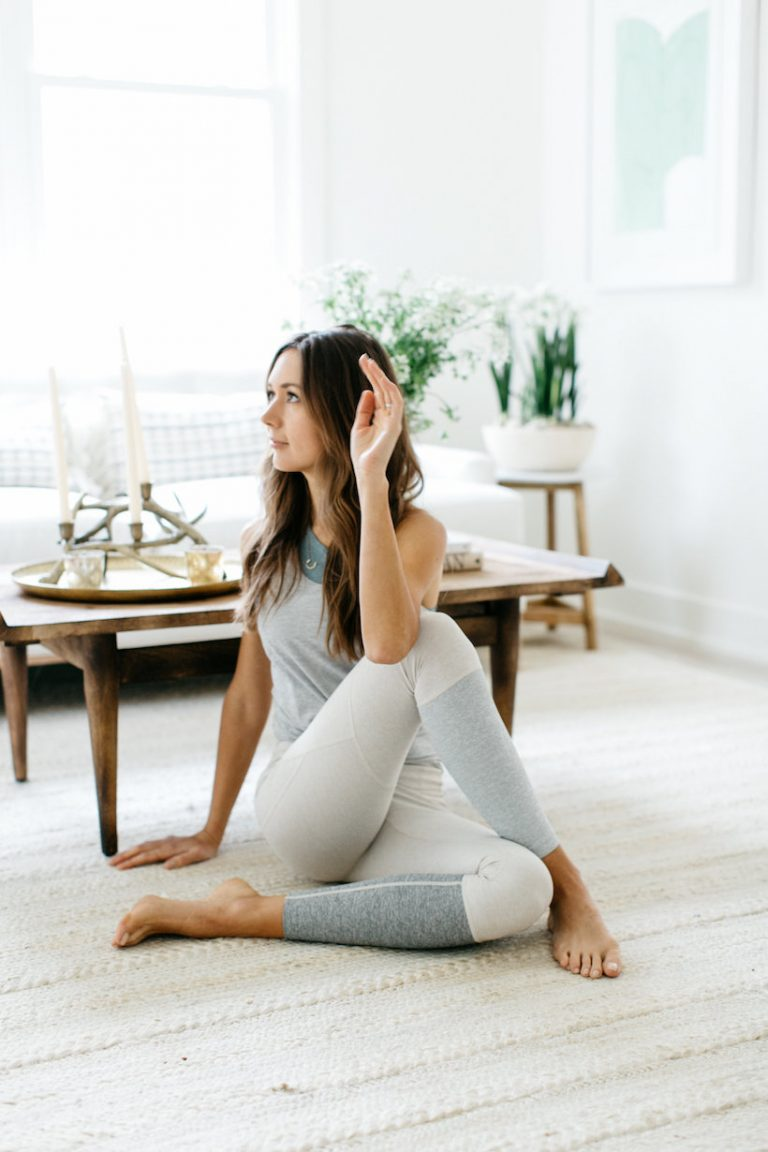 outdoor voices head-to-toe yoga outfit