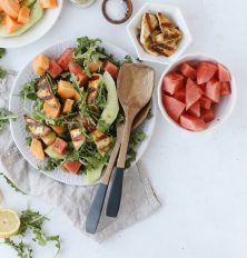 Paneer and Watermelon Salad | This Brown Kitchen