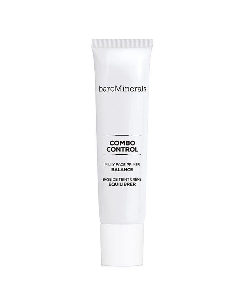 Combo Control Milky Face Primer by BareMinerals Many makeup products on the market have some SPF included, nowadays, but few boast an SPF as high as 50. Slip this on underneath your foundation to ensure that your makeup looks perfect all day—and your skin is healthy and ageless over time.