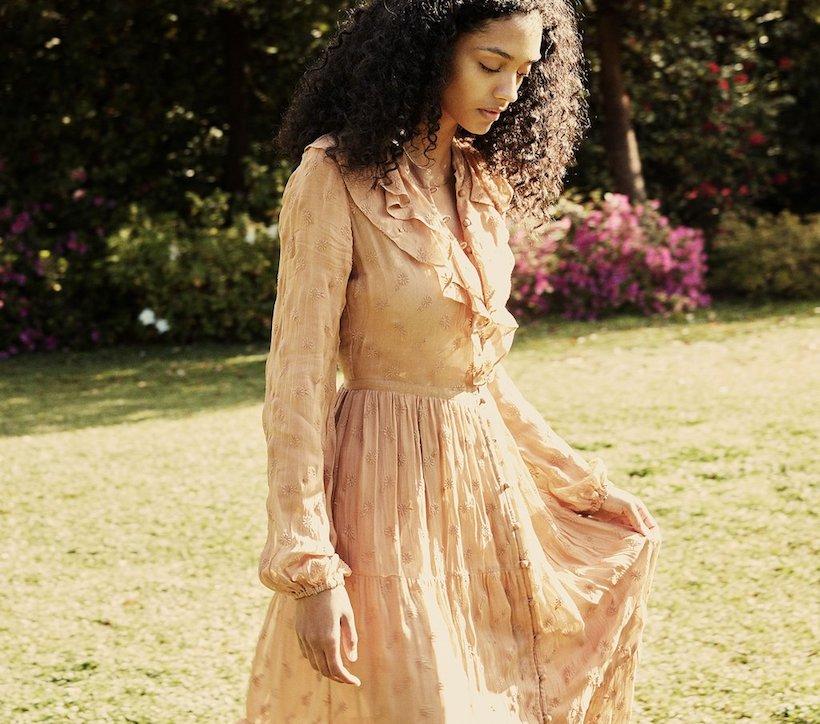 faye dress from doen