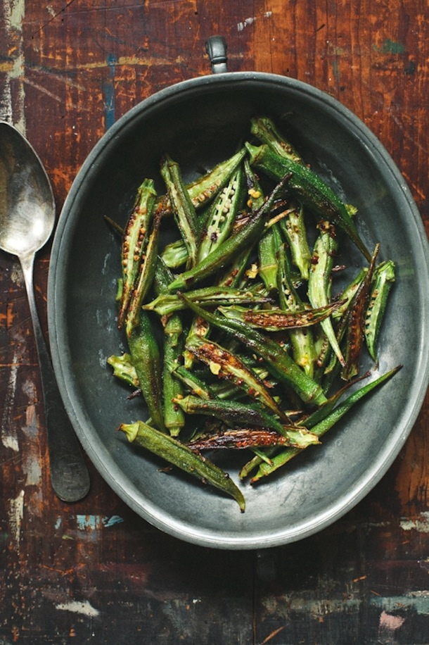 Eat as much okra as you can before summer is over.
