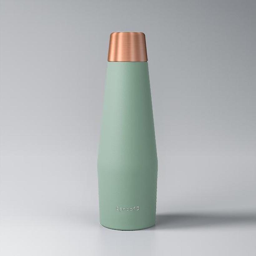 proof water bottle earth