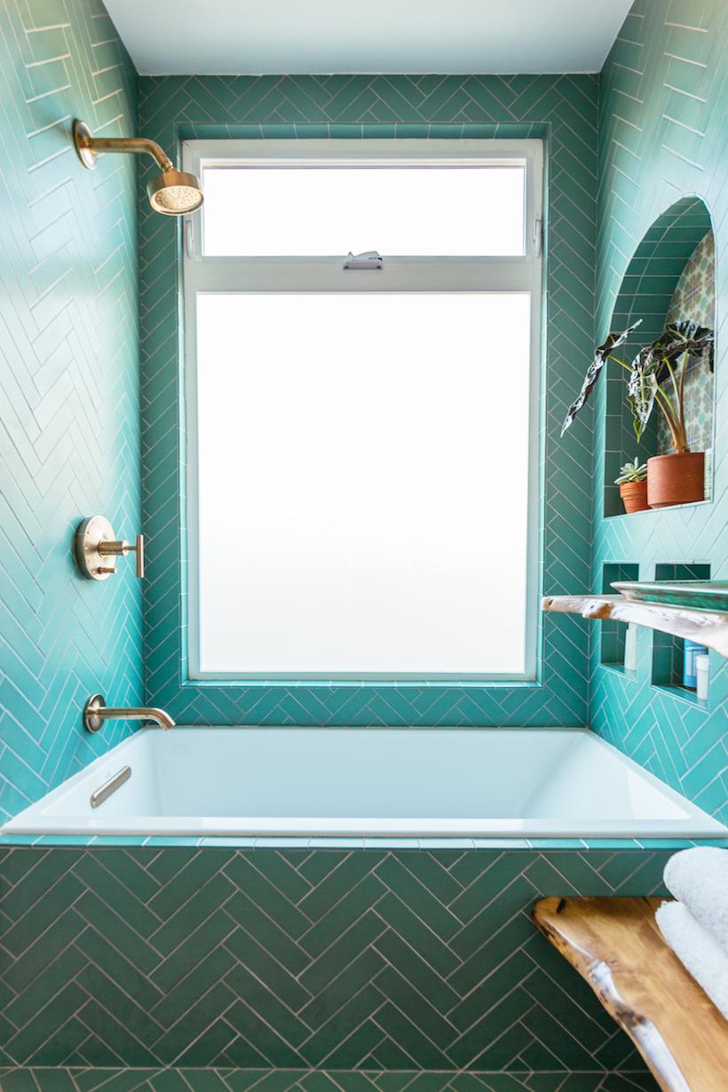 moroccan inspired bathroom tile