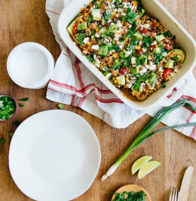 enchilada stuffed zucchini boats