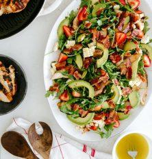 grilled chicken & bacon cobb salad