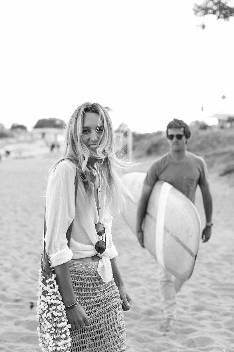 Matt and Emma Goodwin of the Surfrider Malibu