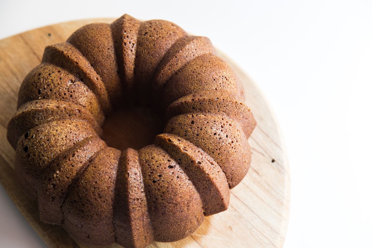 a healthier honey cake for rosh hashana