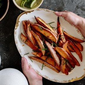 roasted sweet potato side dish