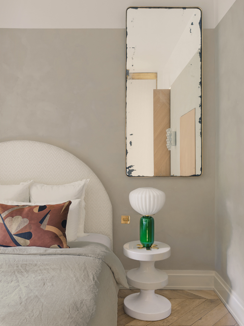 lime wash painted walls