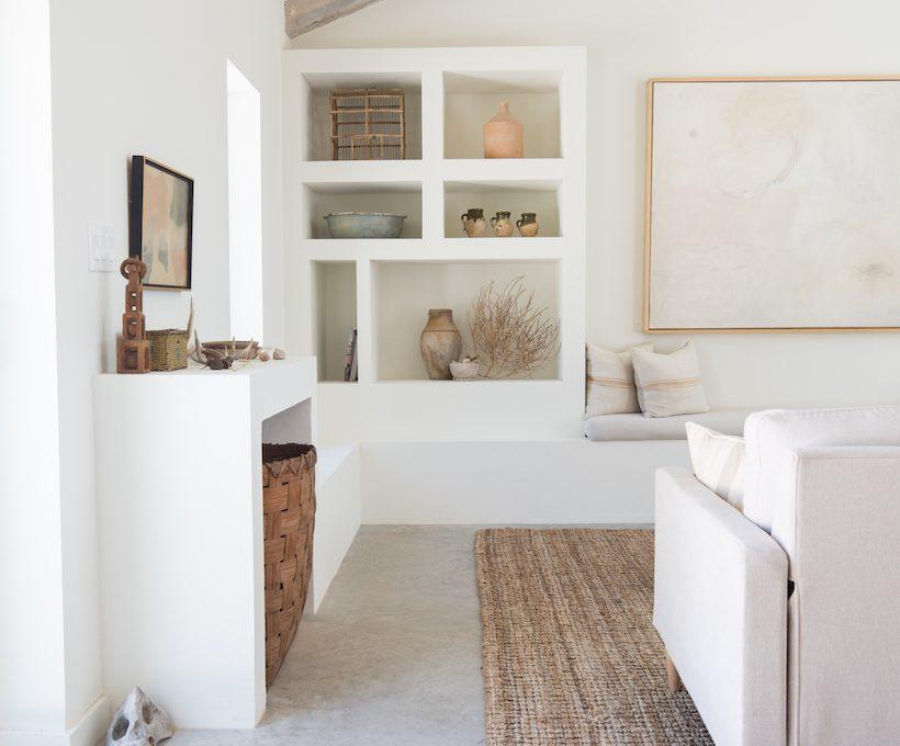 neutral minimalist interiors