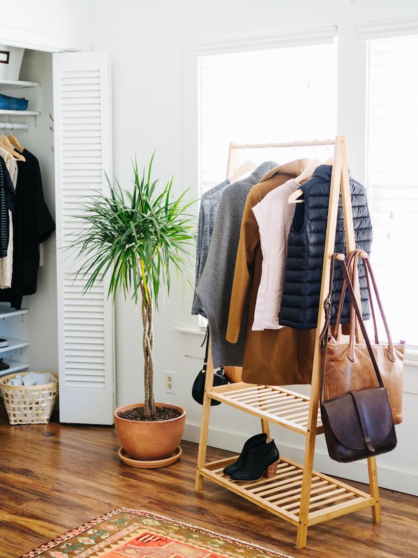 cute clothing rack