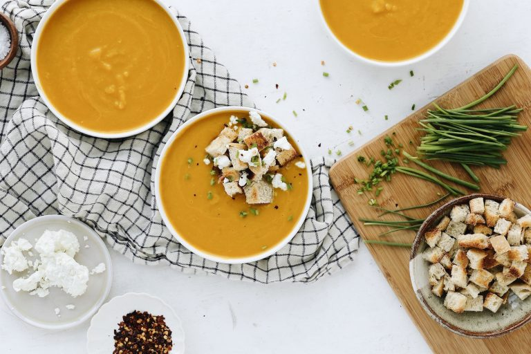 The Curry Butternut Squash Soup We're All Making This Week