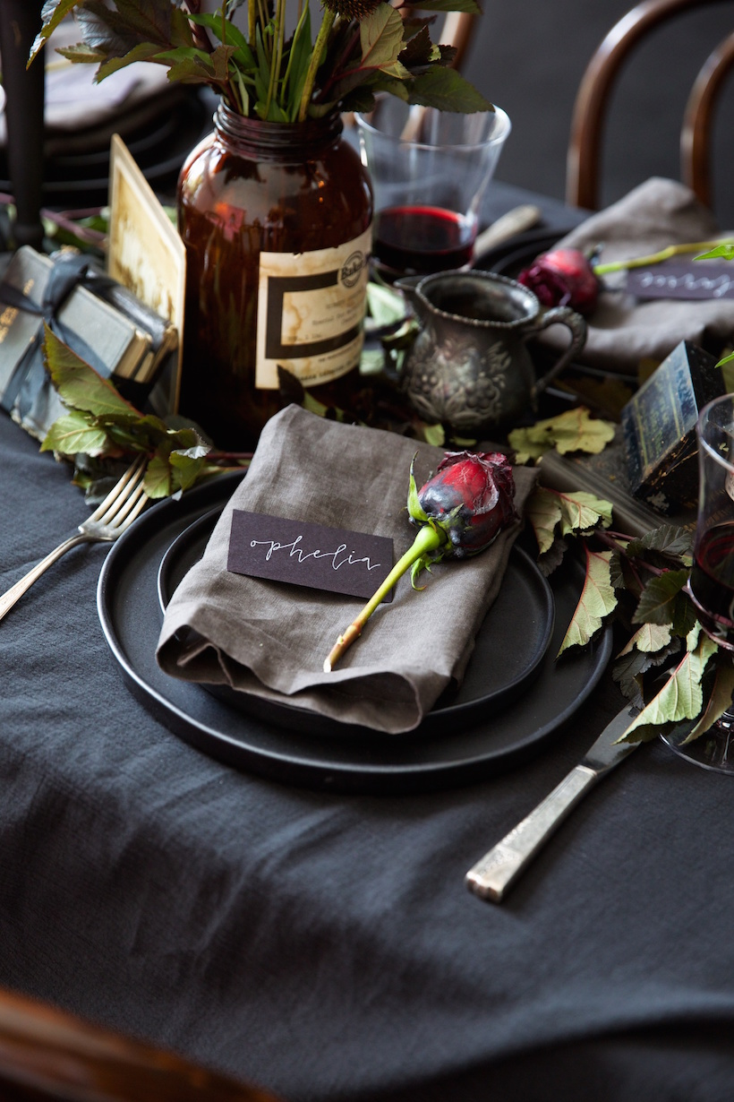 halloween decorations dinner party table ideas