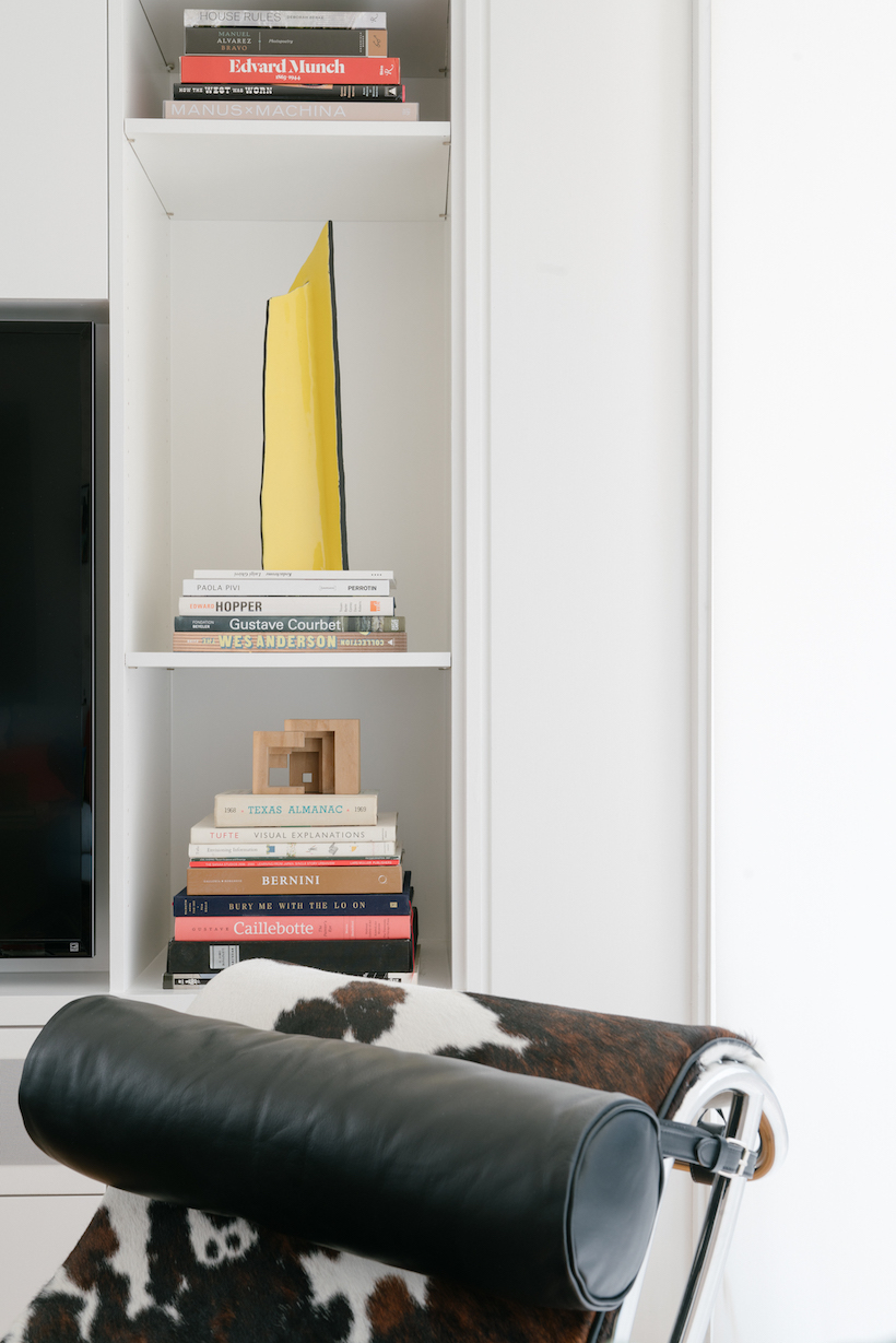 cool styled shelves
