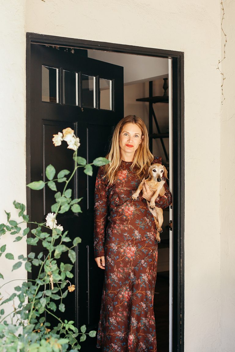 Caterer Annie Campbell at home in Los Angeles.
