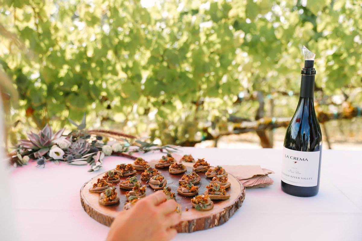 winery food ideas appetizers
