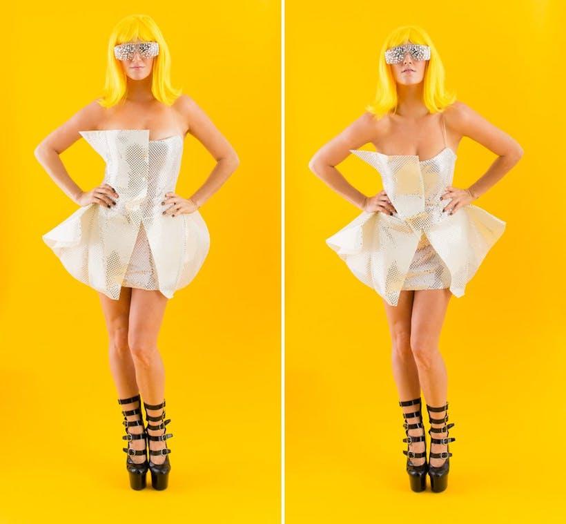 Lady Gaga costume diy
