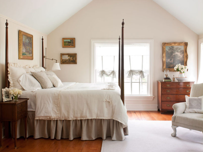 french country four poster bed