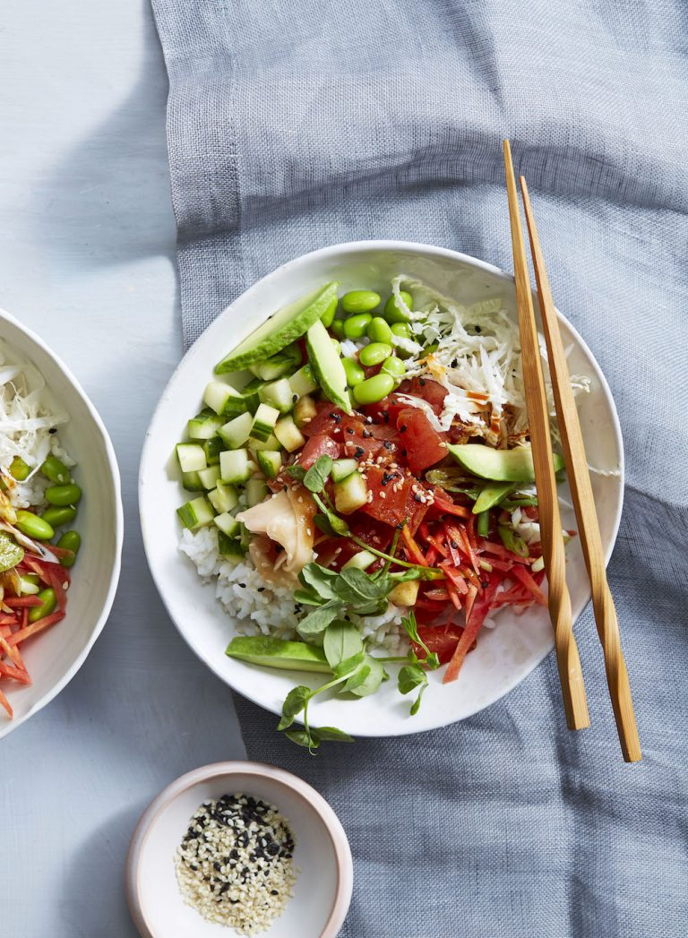 homemade poke bowl recipe
