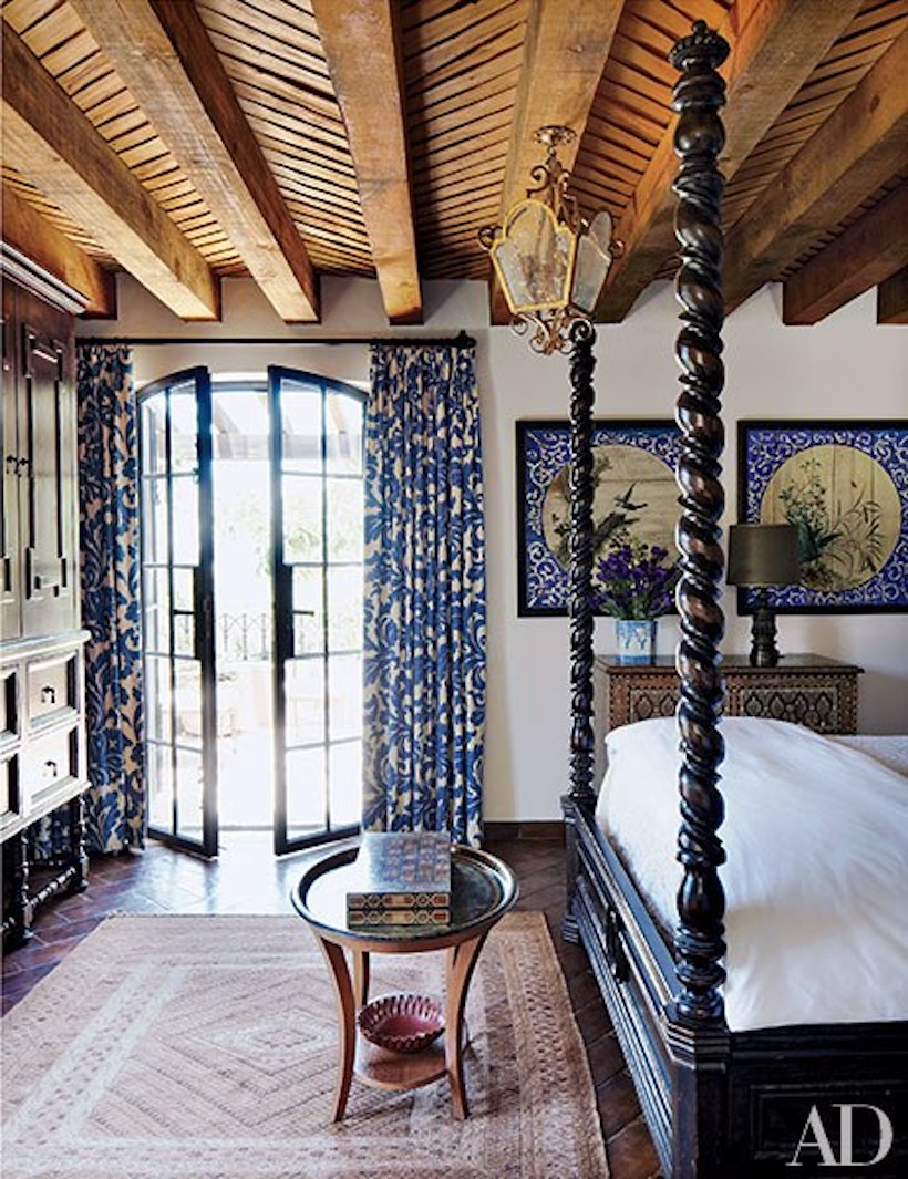 inspiring four poster bed