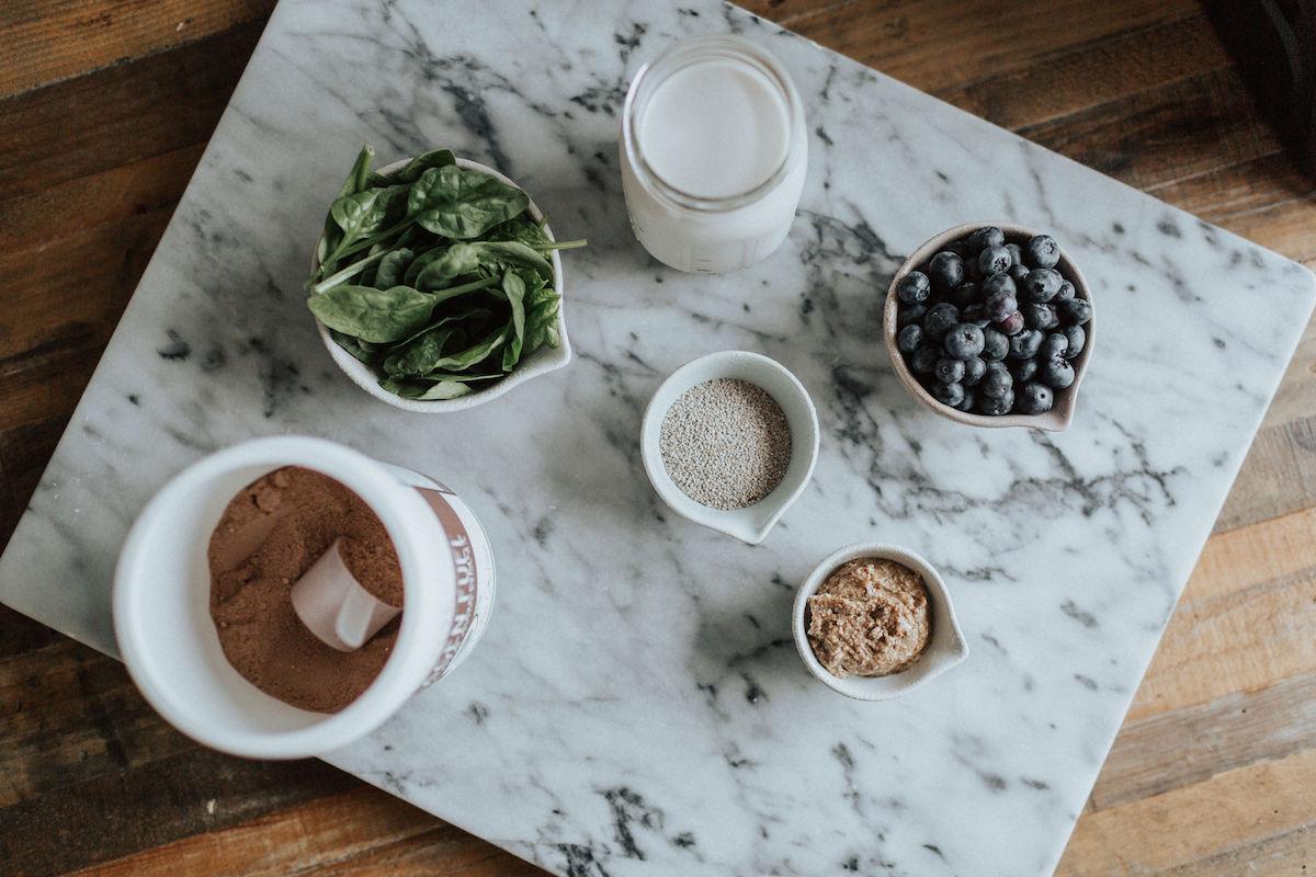 healthy smoothie spread