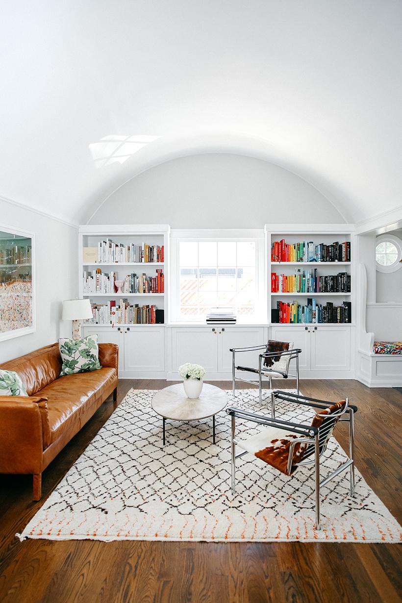 warm modern living room