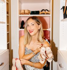 Emily Schuman of Cupcakes and Cashmere at home in Los Angeles