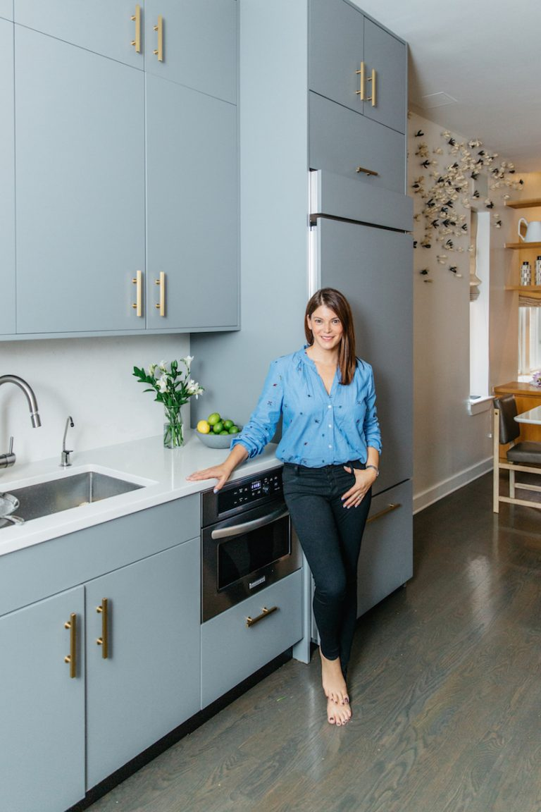Gail Simmons in her kitchen