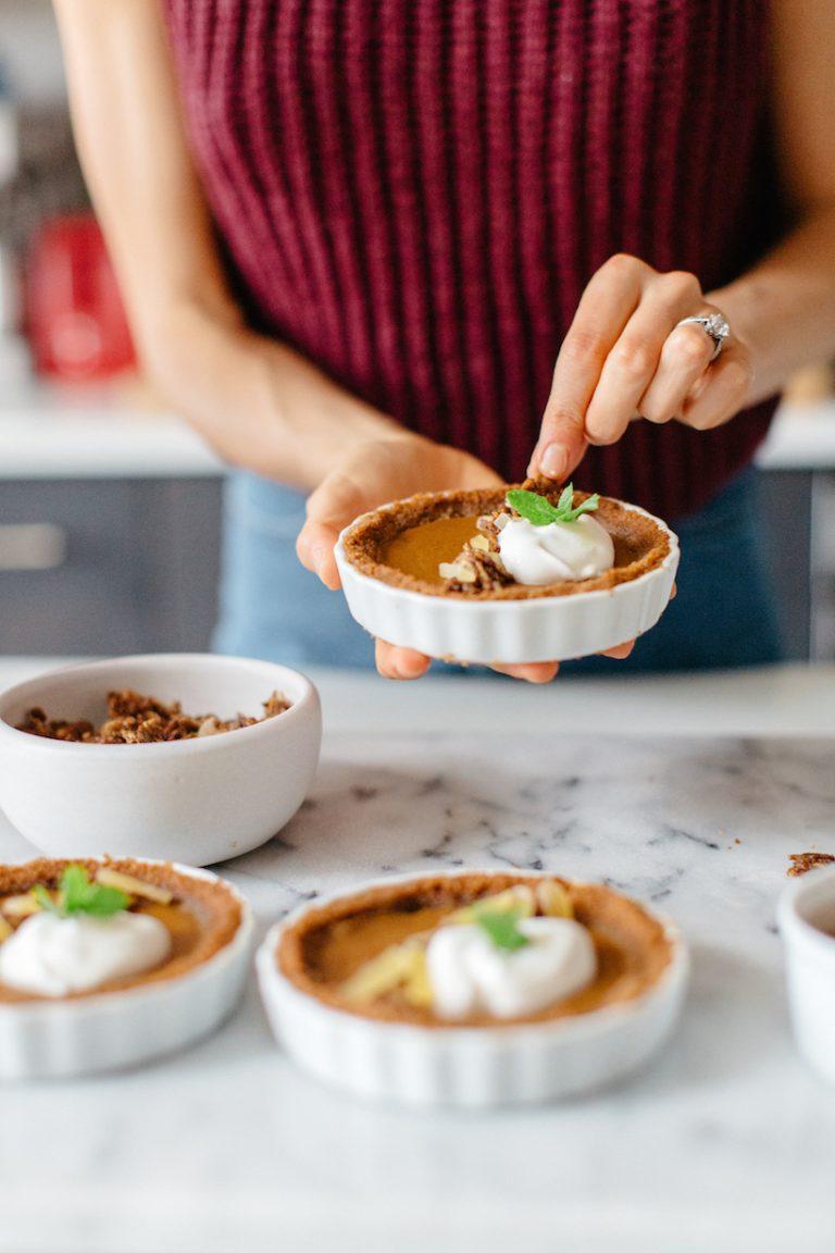 thanksgiving baking desserts with britt maren