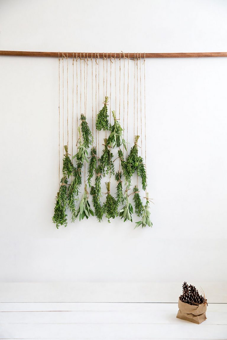Hanging Christmas Tree by Michael Wiltank for Domino