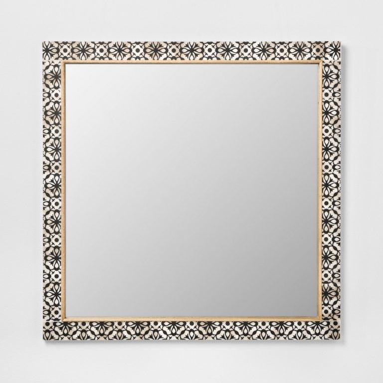 10 Mirrors That Ll Look Amazing Above, Carved Wood Mirror Target