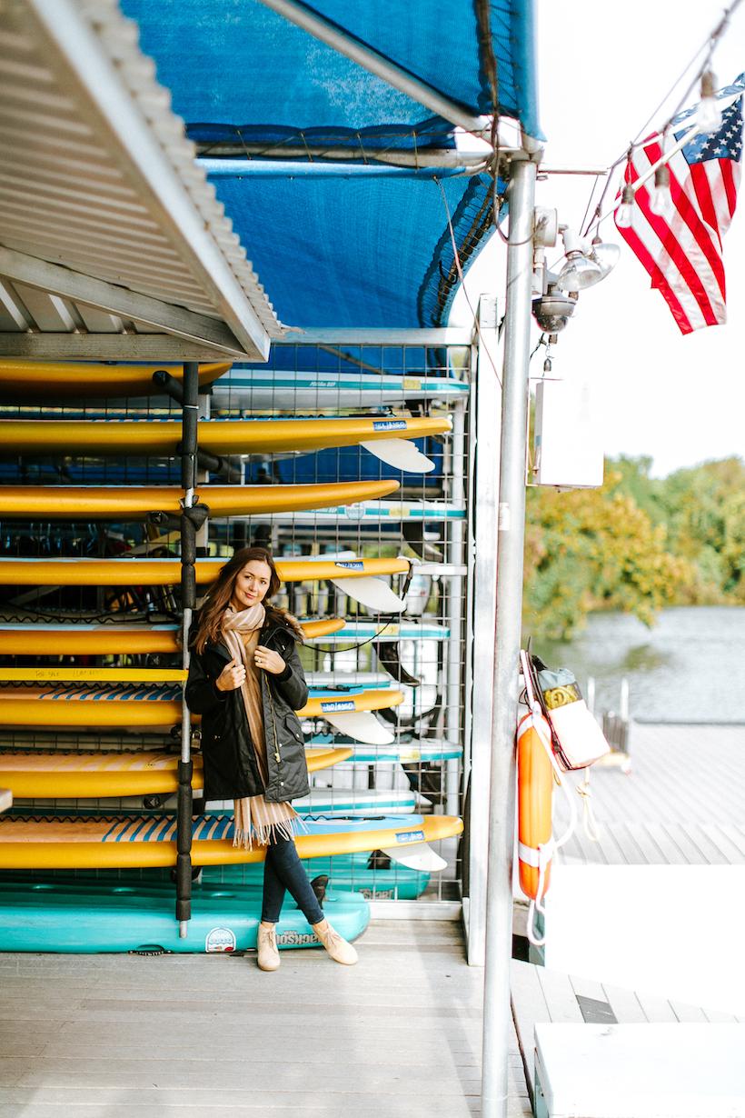 Austin Kayaks at Ladybird Lake- camille styles